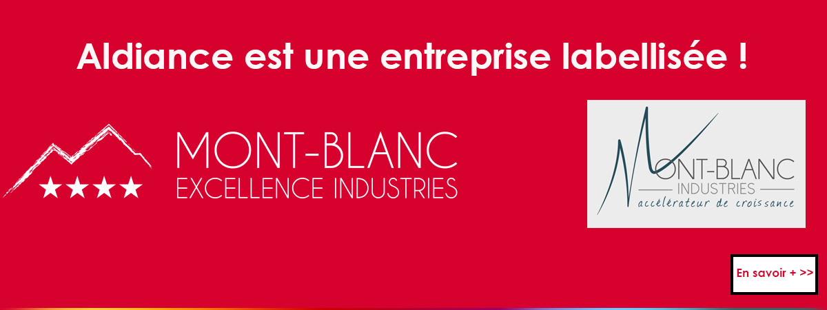 Aldiance label mont blanc industrie
